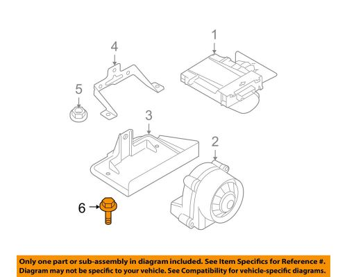 small resolution of details about bmw oem 01 06 m3 alarm system mount plate bolt 07119902933