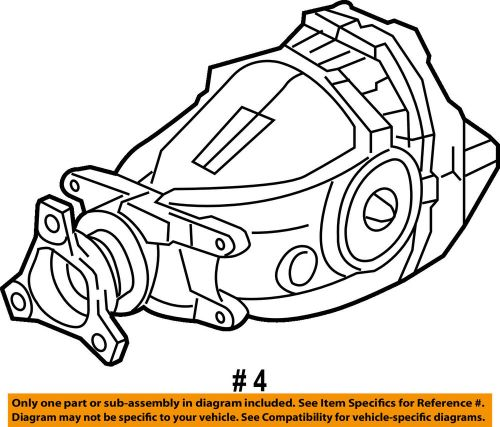 small resolution of details about dodge chrysler oem 15 18 challenger rear differential 53010668aj