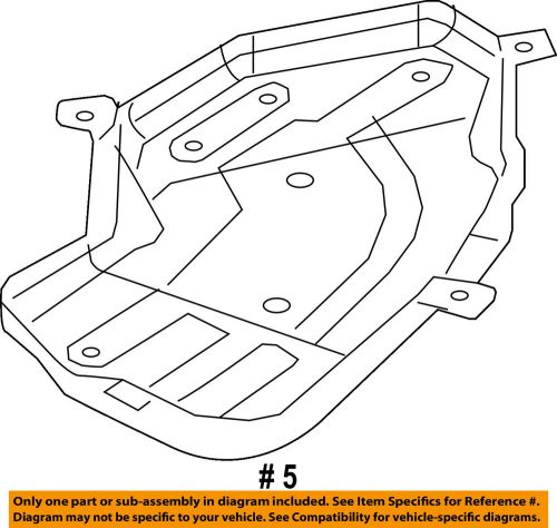 small resolution of details about dodge chrysler oem durango fuel system tank skid plate shield left 5147235ac