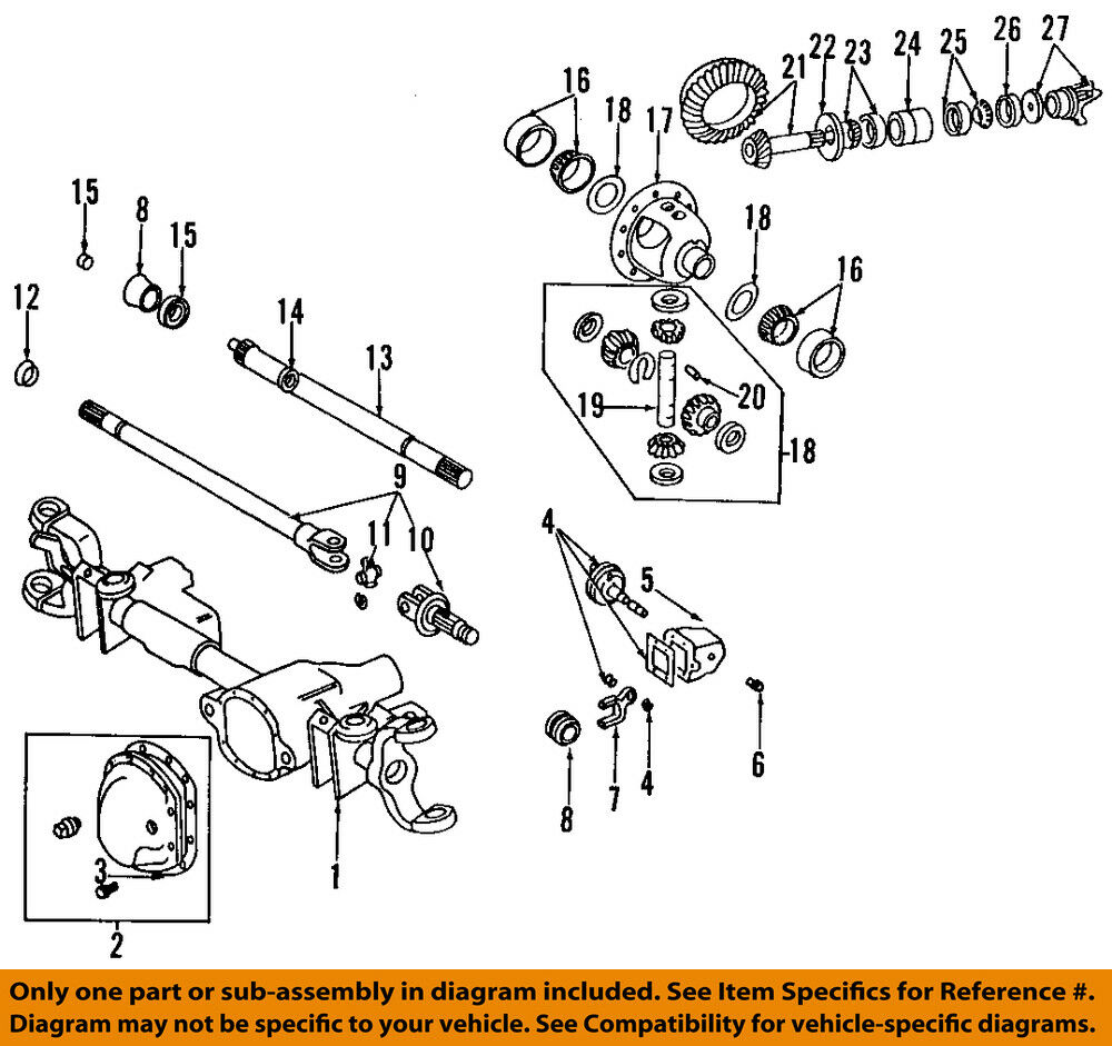 hight resolution of dodge ram 1500 front axle diagram wiring diagram for you dodge chrysler oem 94 01 ram