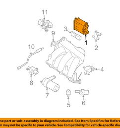 details about nissan oem 09 14 murano vapor canister fuel gas emission 14950ca00a [ 1000 x 798 Pixel ]