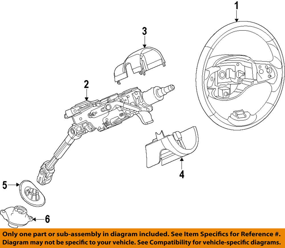 hight resolution of details about jeep chrysler oem 14 18 cherokee steering wheel 5qv34lu5ae