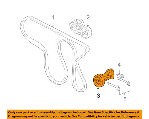 small resolution of details about gm oem serpentine drive belt idler pulley 12618111