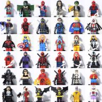2018 All Super heroes Spiderman Ironman Batman X-Men Mini ...