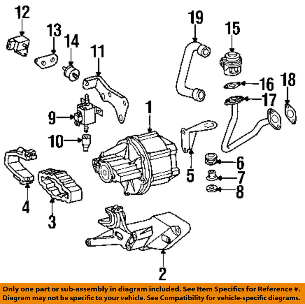hight resolution of details about mercedes oem 96 98 sl500 a i r system check valve 0001402560