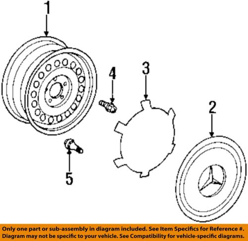 small resolution of details about mercedes oem 94 98 sl500 wheels wheel cover 1404000025
