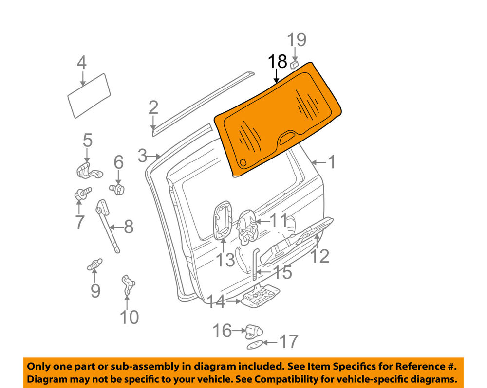 hight resolution of details about mercedes mercedes benz oem liftgate tail gate tailgate window glass 1637400657