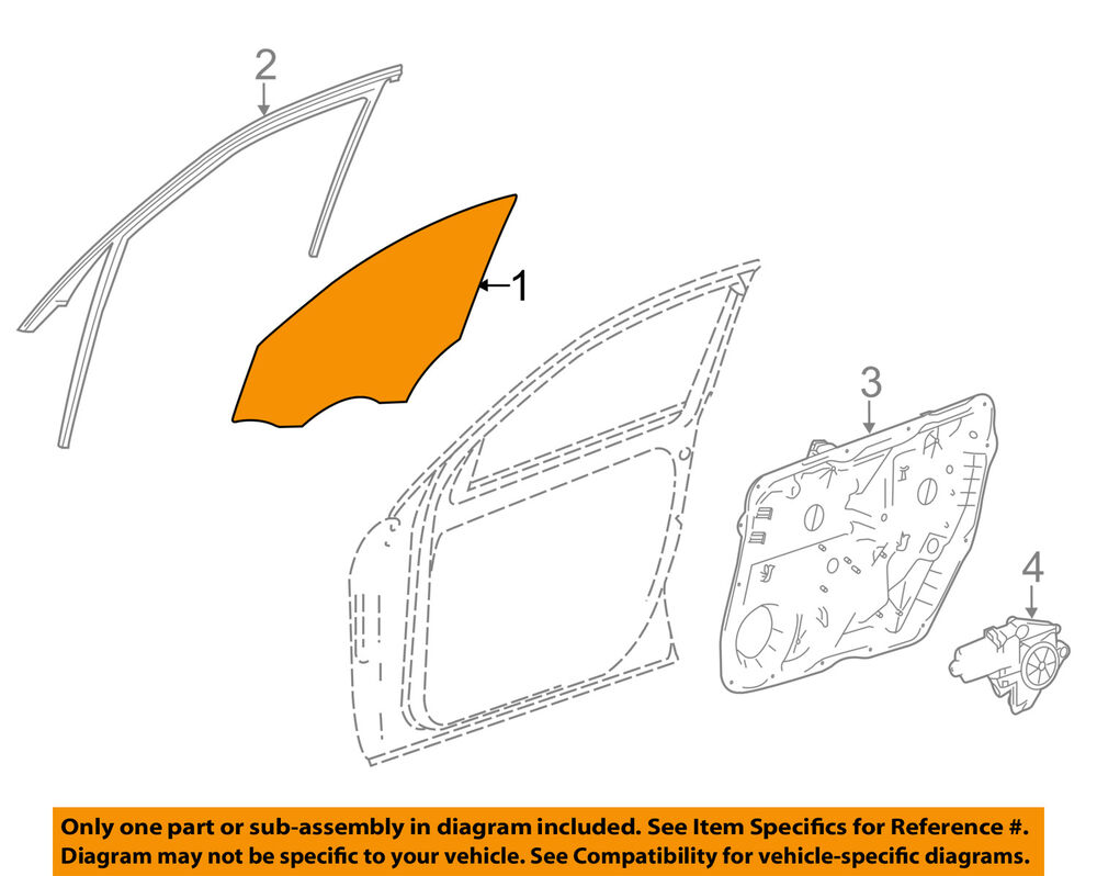 medium resolution of details about mercedes mercedes benz oem 12 15 ml350 front door window glass left 1667200020