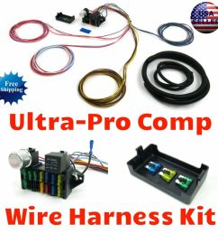 details about wire harness fuse block upgrade kit for 1964 1966 chevelle hot rod rat rod [ 1000 x 1000 Pixel ]