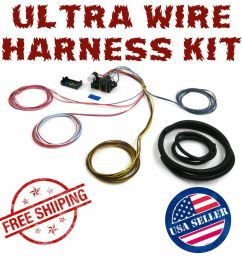 1960 1965 ford falcon ultra pro wire harness system 12 fuse wdetails about 1960 1965 ford [ 1000 x 1000 Pixel ]