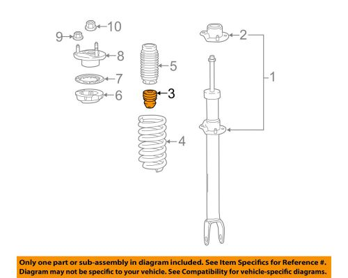 small resolution of details about mercedes oem 16 17 glc300 front suspension strut bumper 2053211806