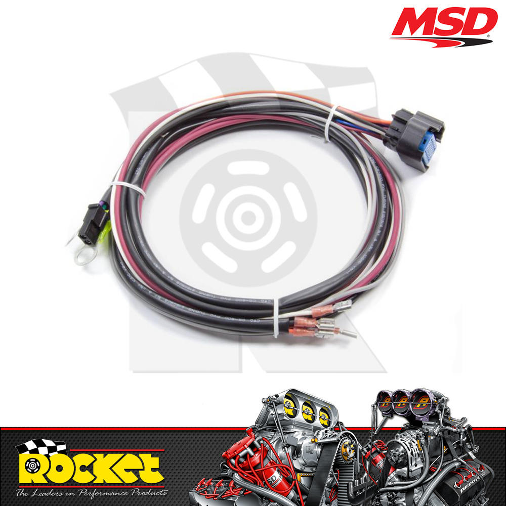medium resolution of details about msd replacement wiring harness suit msd digital 6al msd29774