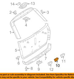 details about mercedes oem gl450 liftgate tail tailgate trunk switch 2118219551 [ 1000 x 798 Pixel ]