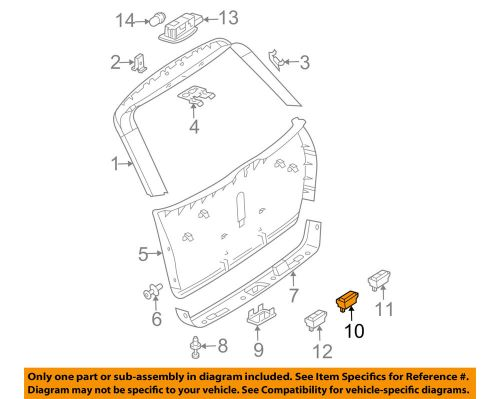 small resolution of details about mercedes oem gl450 liftgate tail tailgate trunk switch 2118219551