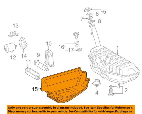 small resolution of details about mercedes oem 98 03 e320 3 2l v6 fuel system shield 2104780237