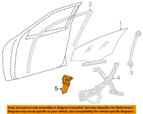 small resolution of details about mercedes oem 97 03 e320 front door window motor 2108205742