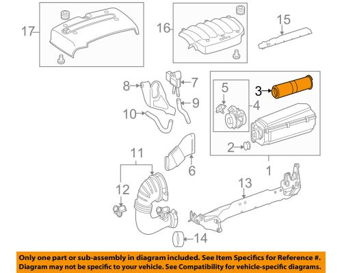 small resolution of details about genuine new oem mercedes benz engine air filter element 646 094 01 04