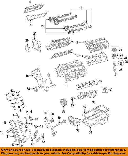 small resolution of details about ford oem 15 16 f 150 crankshaft crank gear fr3z6306a