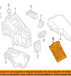 details about nissan oem 11 13 murano 3 5l v6 fuse relay controller 284b71aa1a [ 1000 x 798 Pixel ]