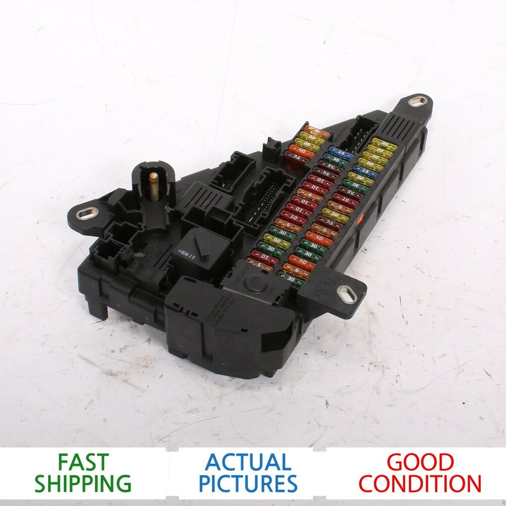 hight resolution of details about 2004 2007 bmw e60 525i fuse box oem