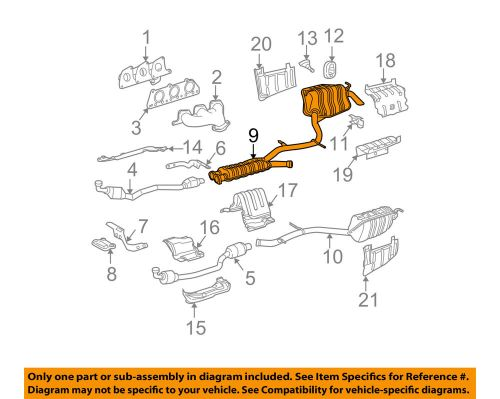 small resolution of details about mercedes oem 2006 e350 3 5l v6 muffler 2114903735