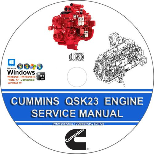 small resolution of details about cummins qsk23 komatsu 170 3 engine troubleshooting service repair manual cd