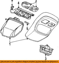 details about dodge chrysler oem 94 96 ram 2500 overhead roof console wire harness 4723433 [ 900 x 1000 Pixel ]
