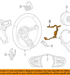 details about bmw oem 14 18 x5 steering wheel harness 32307848335 [ 1000 x 798 Pixel ]