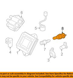 details about subaru oem 05 11 impreza ignition spark plug wire or set see image 22451aa940 [ 1000 x 798 Pixel ]