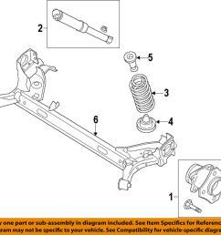details about ford oem 14 18 transit connect rear suspension coil spring dv6z5560e [ 1000 x 949 Pixel ]