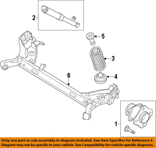 small resolution of details about ford oem 14 18 transit connect rear suspension coil spring dv6z5560e
