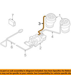 details about bmw oem 07 13 x5 rear suspension air hose right 37206781224 [ 1000 x 798 Pixel ]