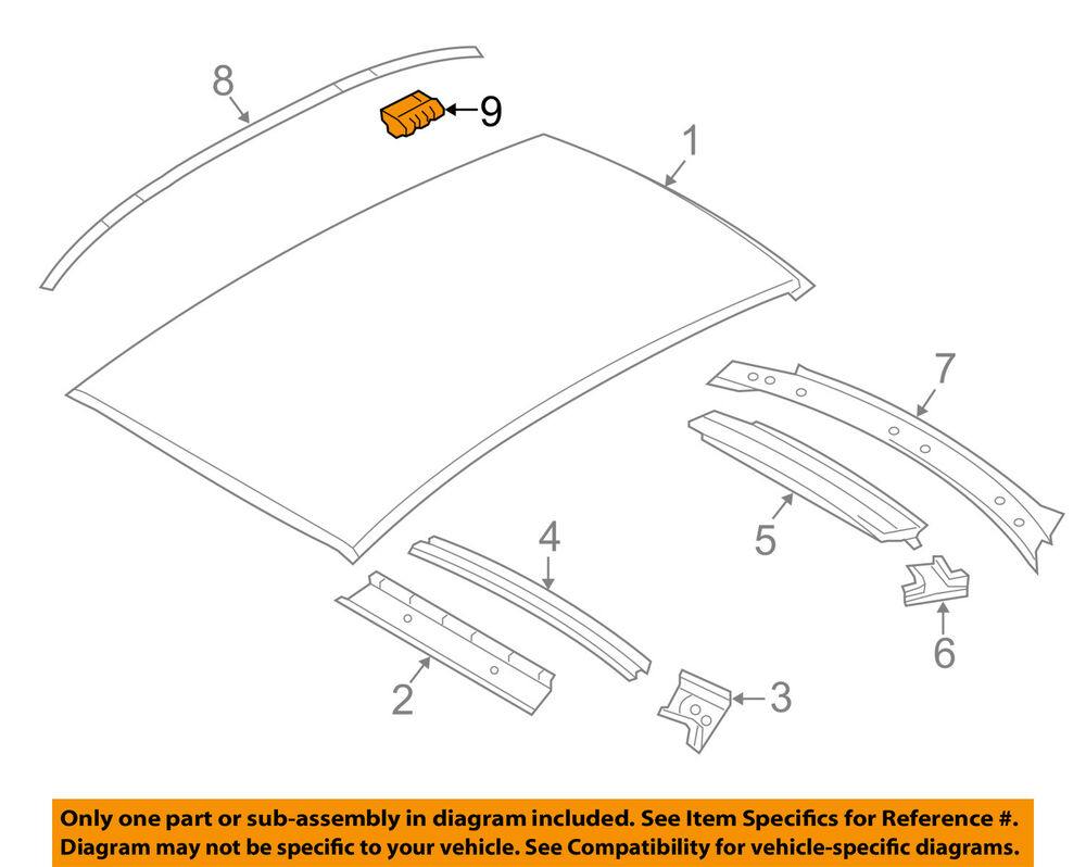 medium resolution of details about bmw oem 07 13 328i roof molding clip 51137077127