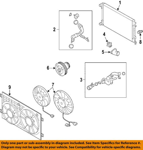 small resolution of details about vw volkswagen oem 06 09 passat engine coolant thermostat housing 06f121111f