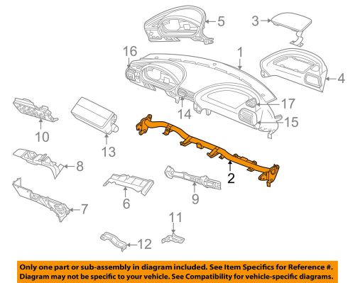 small resolution of details about bmw oem 96 02 z3 instrument panel dash instrument panel support 51458410024