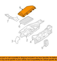 details about bmw oem 06 10 m5 under hood cover right 64316950936 [ 1000 x 798 Pixel ]
