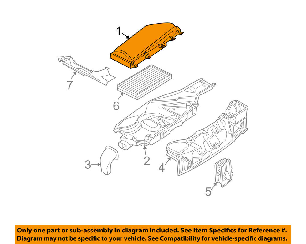 hight resolution of details about bmw oem 06 10 m5 under hood cover right 64316950936