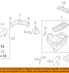 details about vw volkswagen oem 09 16 jetta air cleaner intake hose tube duct clamp n90656201 [ 1000 x 798 Pixel ]