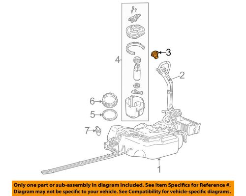small resolution of ford oem 05 07 focus 2 0l l4 fuel tank filler gas cap 5s4z9030aa ebay 2003 ford focus fuel system diagram ford focus fuel tank diagram