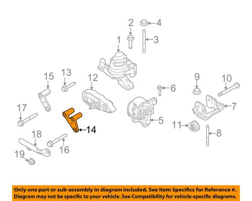 small resolution of details about ford oem 11 16 explorer engine motor transmission mounting bracket bb5z6e042a