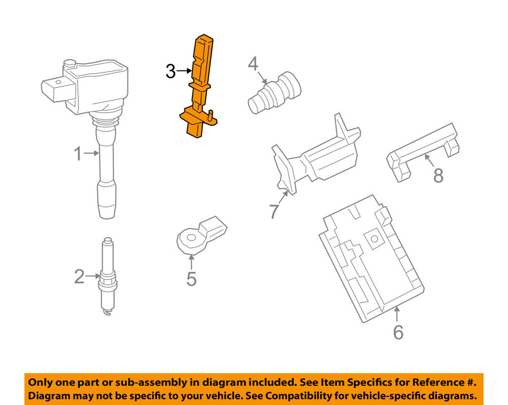 medium resolution of details about porsche oem cayenne engine crankshaft crank position sensor cps 94660613102