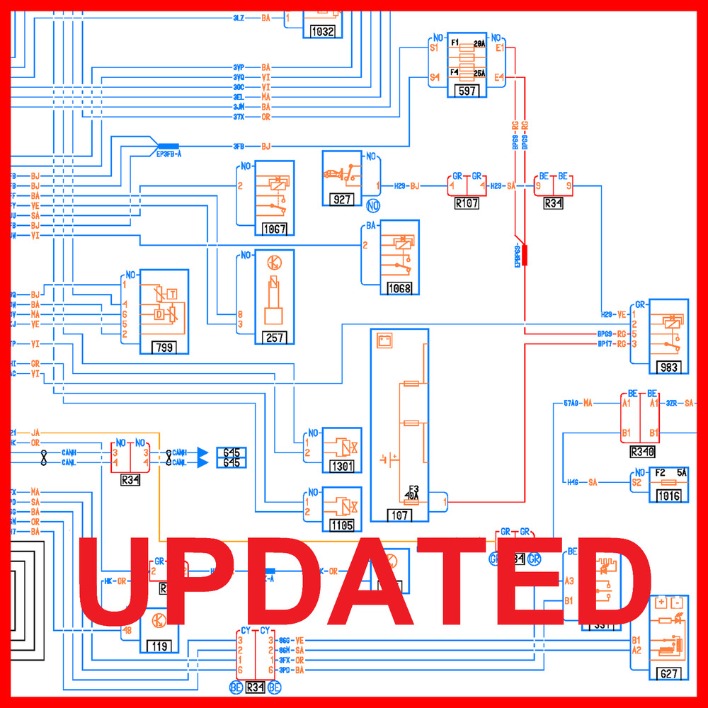 medium resolution of renault visu wiring diagrams for renault download don t wait get today ebay