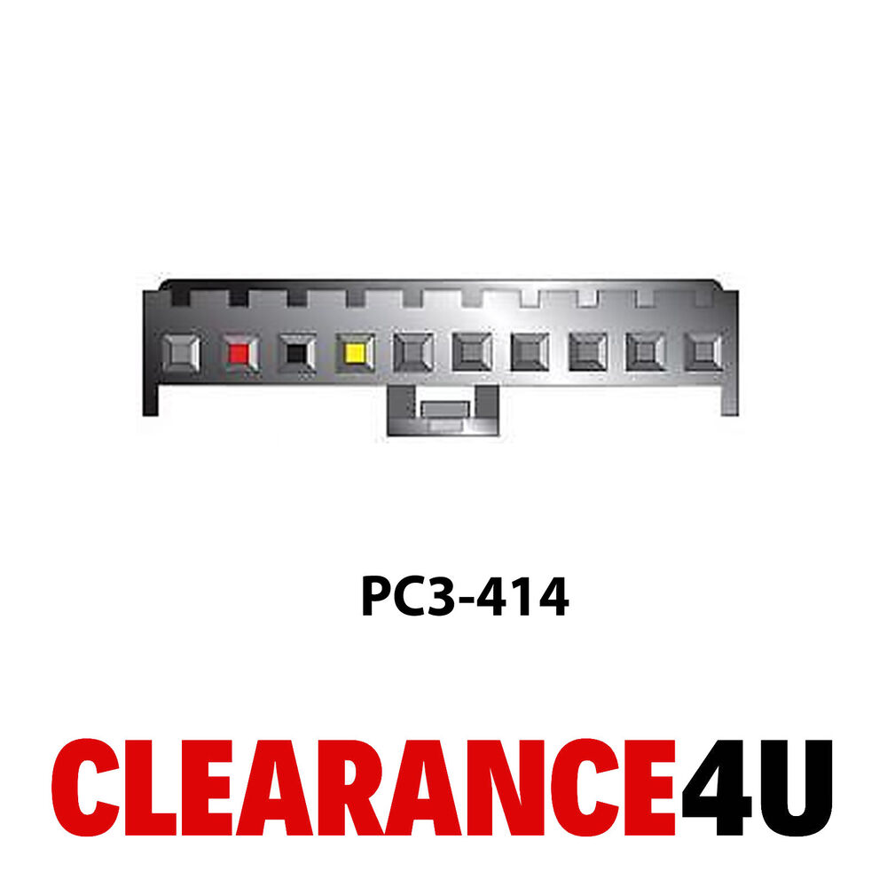hight resolution of autoleads pc3 414 pioneer 10 pin car stereo radio iso wiring loomdetails about autoleads pc3 414