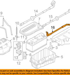 vw volkswagen oem 04 07 touareg 4 2l v8 battery ground cable touareg v8 engine diagram [ 1000 x 798 Pixel ]