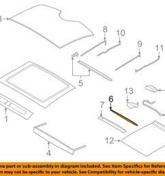 details about lincoln ford oem 17 18 continental sunroof rear shield gd9z54500a66b [ 1000 x 798 Pixel ]
