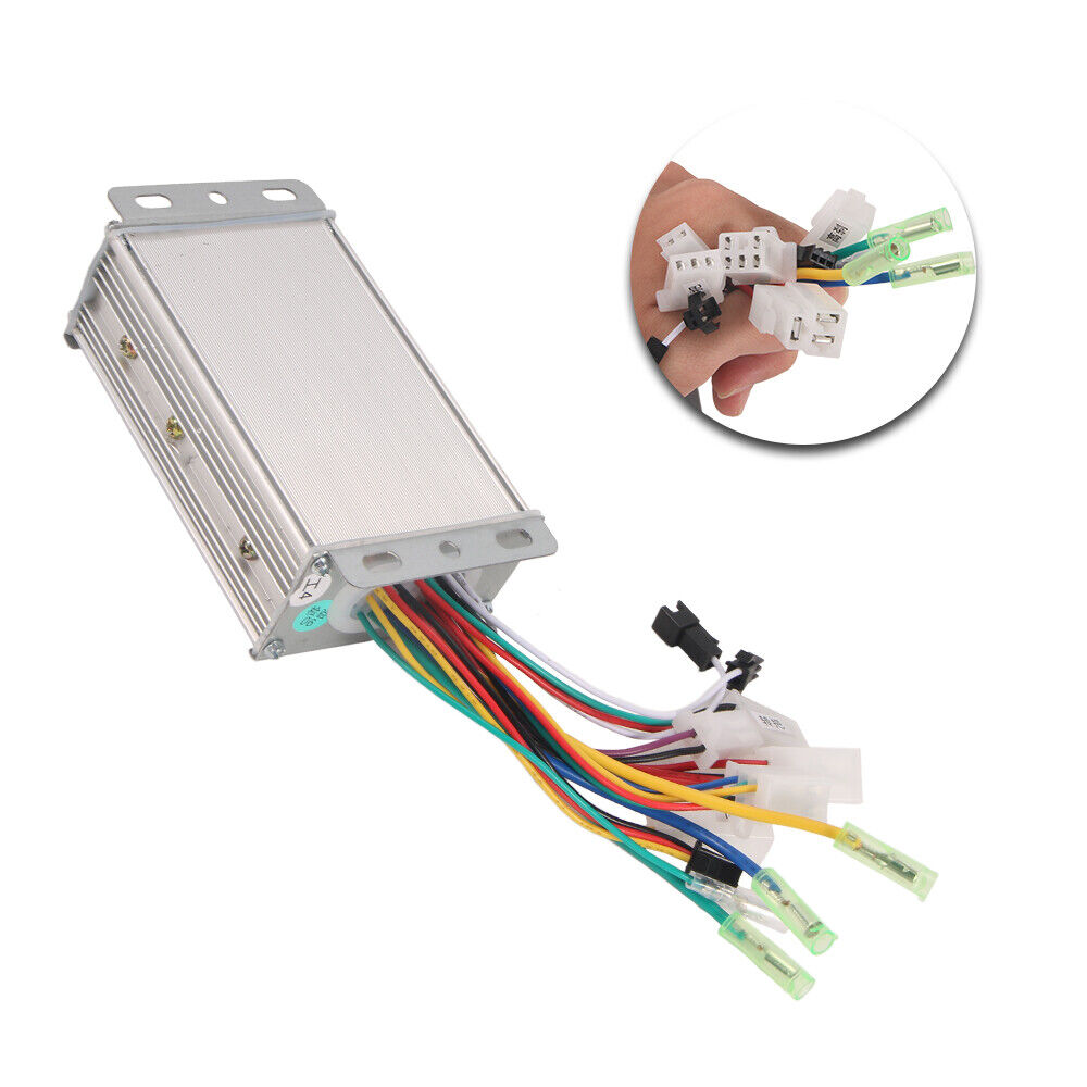 medium resolution of details about 36v 48v 350w electric bicycle e bike scooter brushless dc motor speed controller