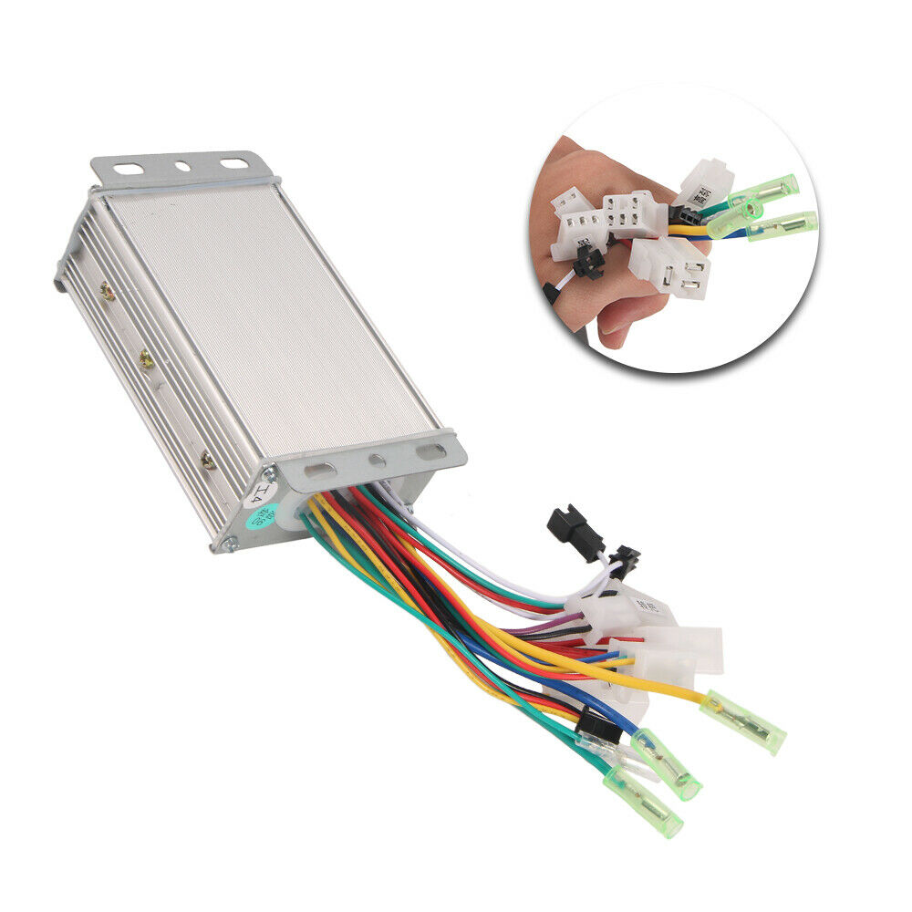 hight resolution of details about 36v 48v 350w electric bicycle e bike scooter brushless dc motor speed controller