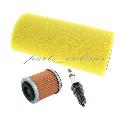 small resolution of details about air oil filter spark plug service kit for yamaha yxr 660 rhino tune up utv