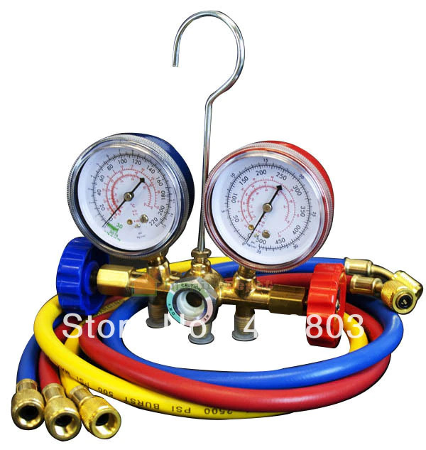 medium resolution of details about a c air conditioning refrigerant manifold gauge set repair tools r22 r134 r404a