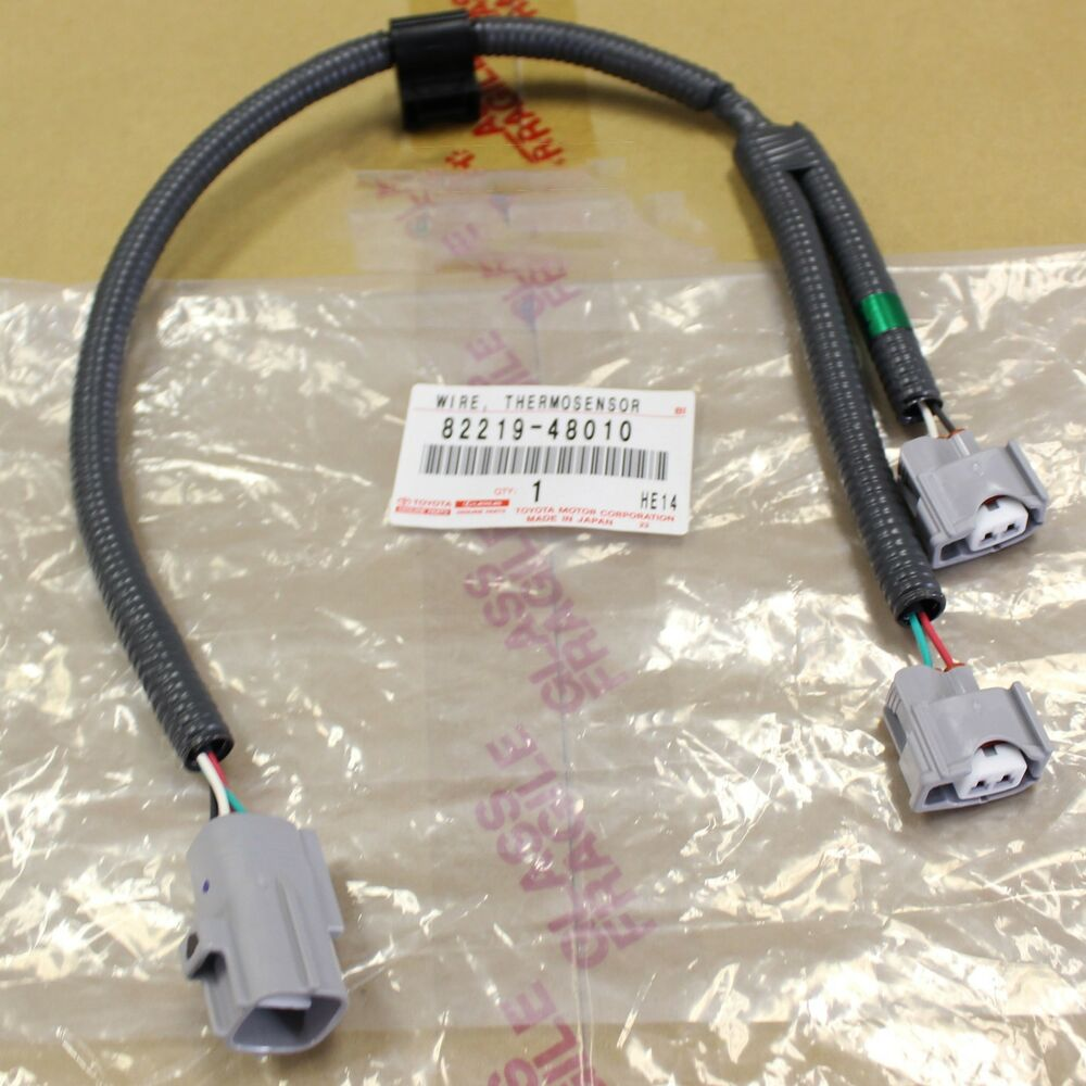 hight resolution of details about new oem toyota lexus 3 3l v6 camry es330 knock sensor wire harness 82219 48010
